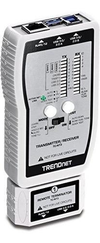 Imagen 1 de 6 de Probador De Cables Trendnet Vdv Y Usb Tcnt3