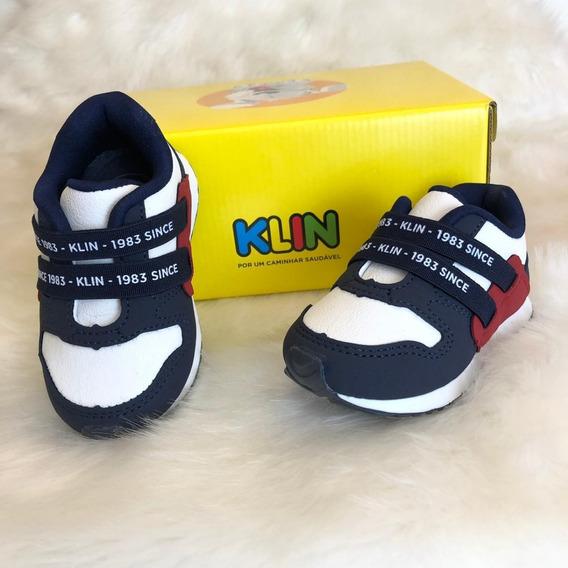 Tenis Mini Walk Menino Klin - 16493