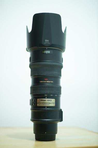 Lente Nikon 70-200 F/2.8 Vr1