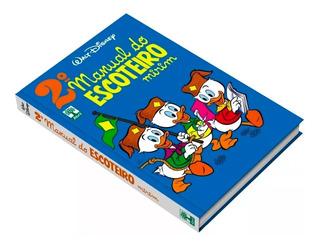 Manual Do Escoteiro Mirim 2º Capa Dura Hq Disney