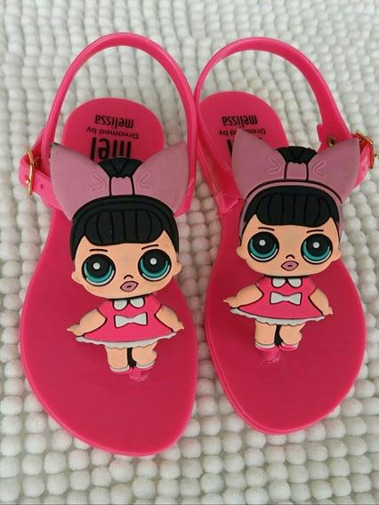 Rasteirinha Juvenil Kit Com 12 Pares Pink 25 Ao 32