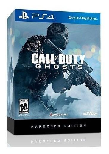 Call Of Duty Ghosts Hardened Edition (mídia Física) Ps4 Novo