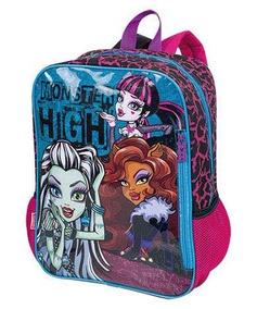 Mochila Infantil De Costas Monster High - Sestini Original