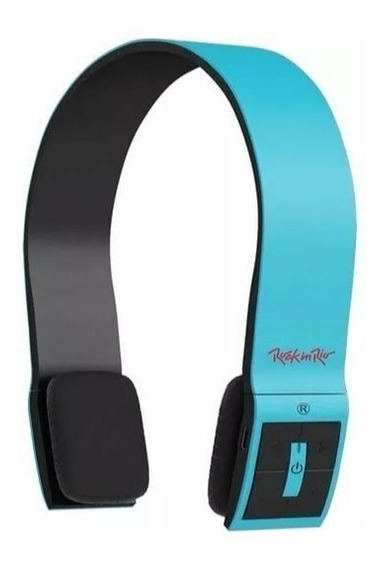 Fone Ouvido Bluetooth Aquarius Headphone Rock In Rio