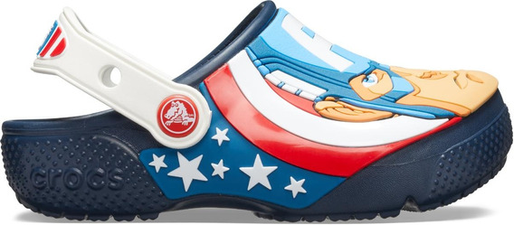 Crocsfl Captain America