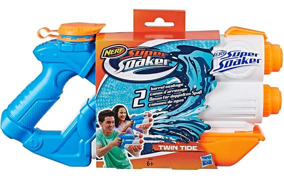 Nerf Super Soaker Twin Tide Pistola De Agua Hasbro
