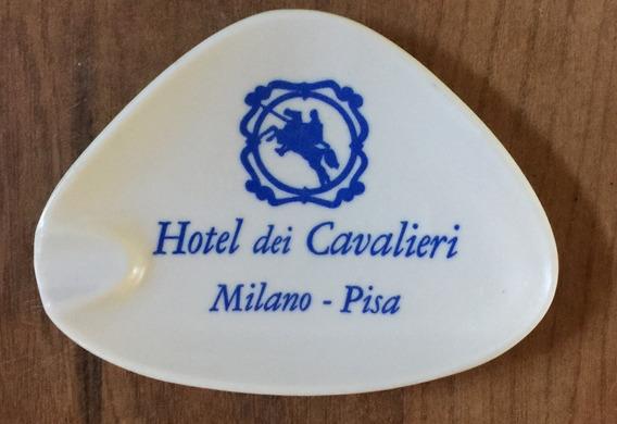 Antiguo Cenicero Hotel Dei Cavalieri Milano - Pisa-melamina