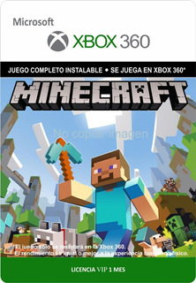 Minecraft Xbox 360 - Envío Gratis - Preguntar Por Stock