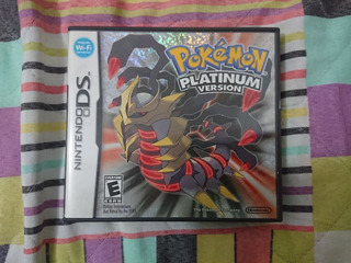 Pokémon Platinum Version - Near Mint -