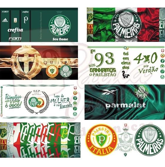 Estampas E Artes Para Canecas Times Palmeiras