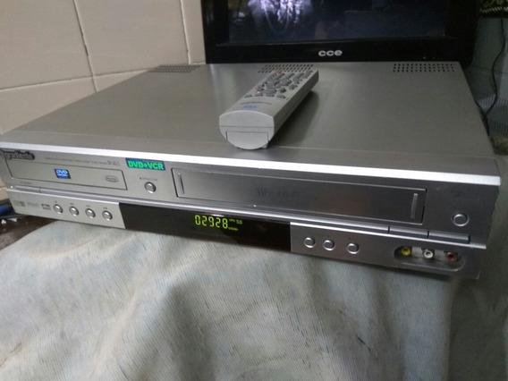 Combo Dvd +vhs Gradiente Dv 60/3