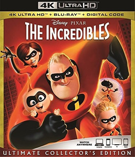 4k Ultra Hd + Blu-ray The Incredibles / Los Increibles