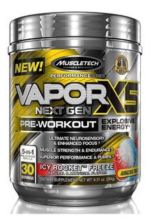 Nano Vapor X5 Nextgen Pre Treino 30 Doses Formula Importada