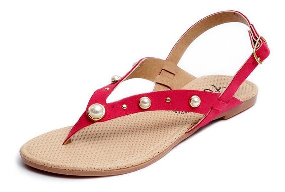 Zapatos Sandalias Huaraches Dama Zapatillas Moda Fucsia 1252