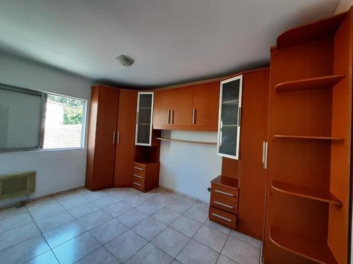 Apartamento Com 2 Dormitórios, 90 M² - Venda Por R$ 380.000,00 Ou Aluguel Por R$ 1.520,00/mês - Marapé - Santos/sp - Ap1077