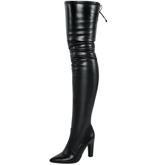 Bota Extra Larga Dama Marca Yaeli Fashion Mod 6 0127 Negro