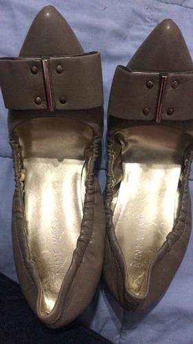Zapatos Chatitas Nine West N 34 / 35 Importadas 1 Uso