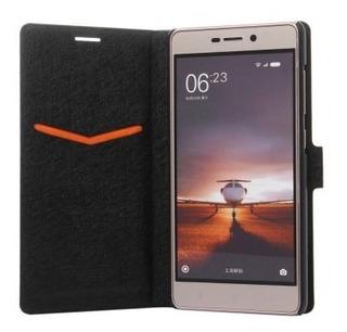 Capa Carteira Xiaomi Redmi 3/3 Pro (ido) - Pronta Entrega