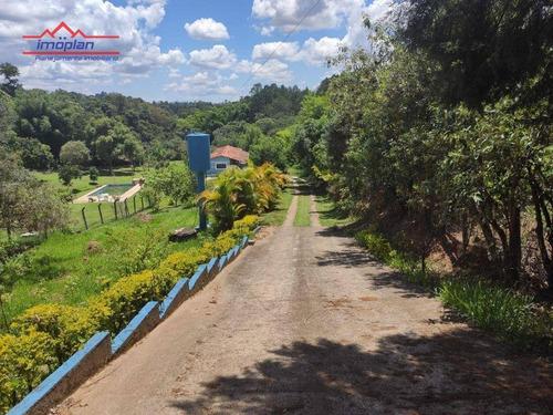 Imagem 1 de 16 de Chácara Com 2 Dormitórios À Venda, 4850 M² Por R$ 480.000,00 - Jardim Estância Brasil - Atibaia/sp - Ch0222