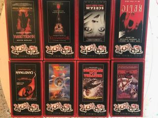 Coleccion Obras Cumbres Del Terror Vhs
