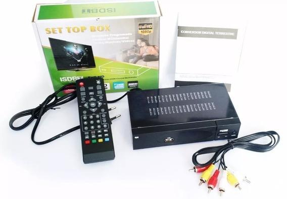 Kit Conversor Digital + Antena Digital