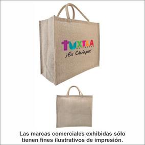 c6f57a48e 5 Bolsas De Yute Grandes, Con Fuelle, C/tu Logo Impreso