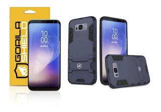 Capa Armor E Peli´cula De Gel Dupla Galaxy S8 Gorila