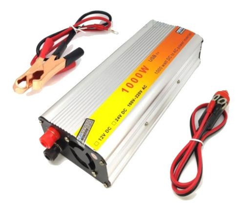 Imagem 1 de 3 de Inversor De Energia Poten 1000w Entrada Dc 12v Saída Ac 220v