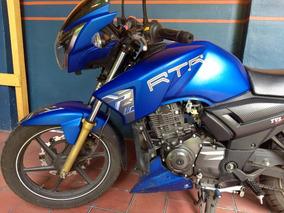 Moto Deportiva 180 Tvs Apache Rtr Ahorradora