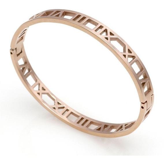 Bracelete Feminino Aço Vanglore Ravello Rosê C/ N F Oferta