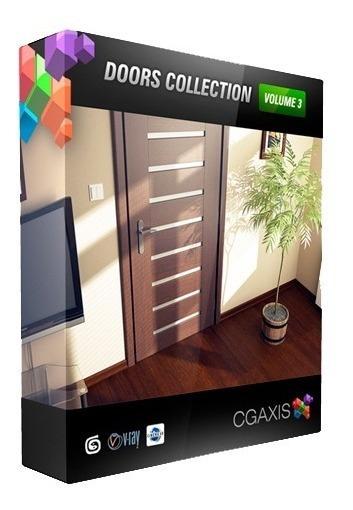 Modelos Cgaxis Volume 3 Portas Com Entrega Imediata