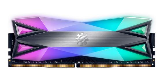 Memoria Ram 8gb Xpg Spectrix D60g Ddr4 3200mhz Rgb Cuotas