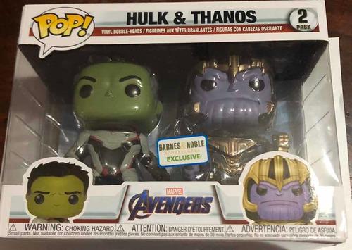 Funko Pop Hulk - Thanos Pack Avengers Marvel Consulte Precio