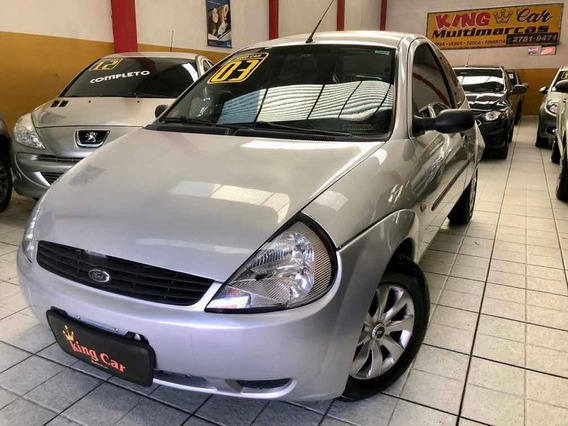 Ford Ka 1.0 Gl 3p 2003 Completo Kingcar Multimarcas