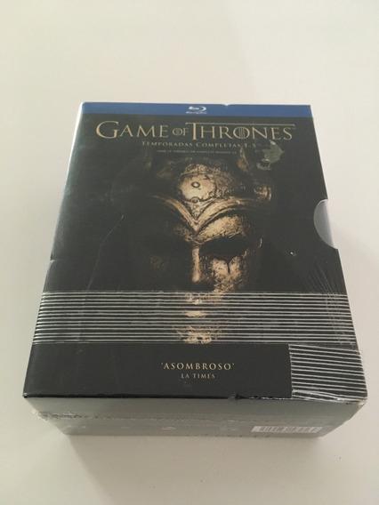 Game Of Thrones Juego De Tronos Blu-ray Temporada 1 A 5