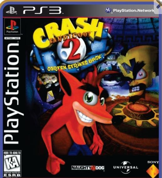 Crash Bandicoot 2 Para Ps3 Desbloqueado