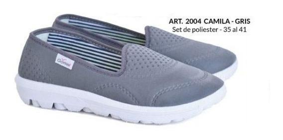 Zapatillas De Mujer Tipo Pancha (gowell 2004)
