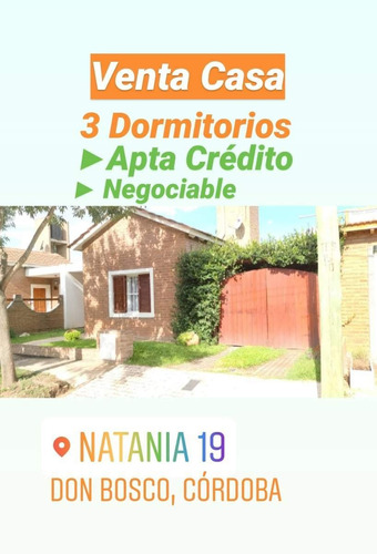 Venta Casa B° Natania 19, Don Bosco