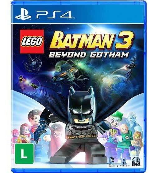 Batman 3 Lego:beyond Gotham Mídia Física Ps4