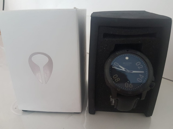 Nixon Ranger Leather All Black ( Novo Na Caixa)