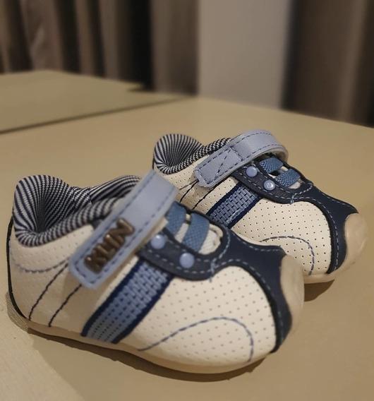 Sapatênis Bebê Klin Masculino