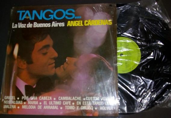 Lp Tangos- Voz De Buenos Aires, Angel Cárdenas- Ótimo