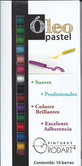 Óleo Pastel Rodart Barral Colores 16pzs Alta Calidad Oferta