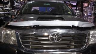 Deflector De Capot Bi Color Toyota Hilux 2012-2015