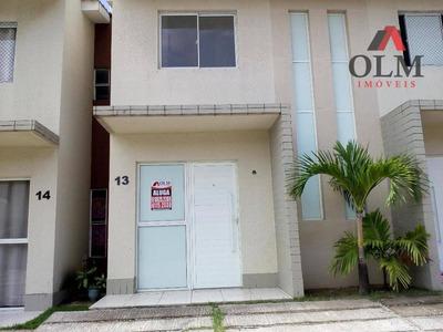 Casa Residencial Para Venda Ou Locação, 02 Suítes, 02 Vagas, Parque Santa Maria, Fortaleza. - Ca0086