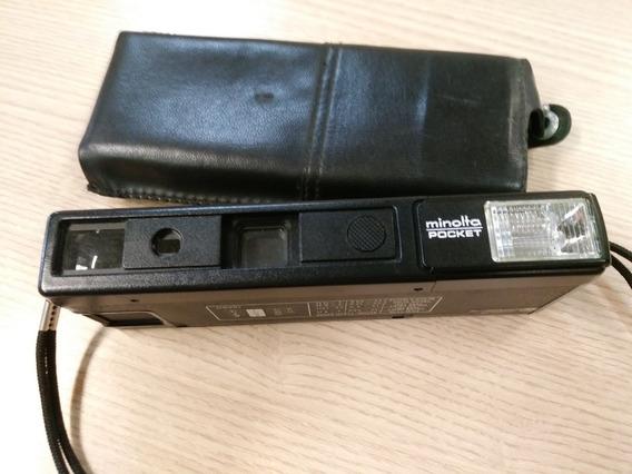 Máquina Fotográfica Minolta Pocket 430ex Para Colecionadores
