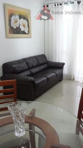 Apartamento Com 2 Dormitórios À Venda, 48 M² Por R$ 320.000,00 - Vila Firmiano Pinto - São Paulo/sp - Ap33219