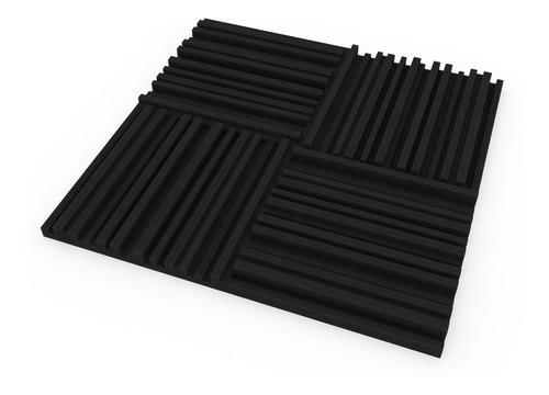 Paneles Acústicos Pack X 75 Unidades 3cm Espesor (5 Diseños)