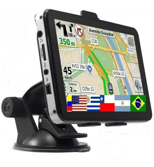 Gps Dbs 5 Pulgadas Hd Video Mp3 Mapas Mercosur Igo + Regalo