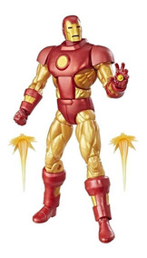 Homem De Ferro Iron Man Marvel Legends Vintage Retro Hasbro